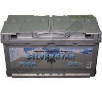 Автомобильный аккумулятор  Silverstar 90 Ач 353x175x190