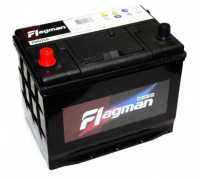 Автомобильный аккумулятор  Flagman 80 Ач 260x173x225