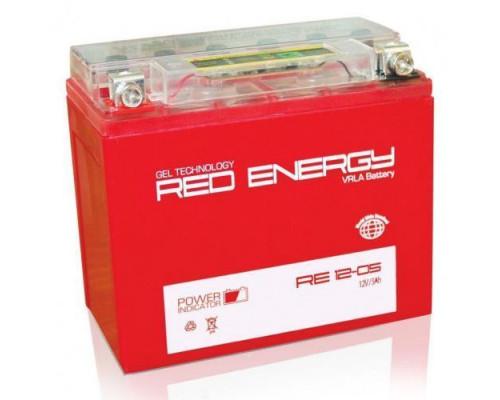 Мото аккумулятор Red Energy 5 Ач