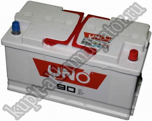 Автомобильный аккумулятор  Uno 90 Ач