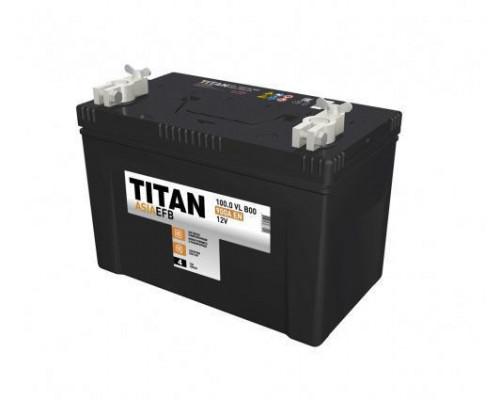 Автомобильный аккумулятор  Titan 100 Ач