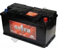 Автомобильный аккумулятор  Giver 110 Ач 353x175x190
