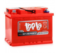 Автомобильный аккумулятор  Topla 60 Ач 242x175x190