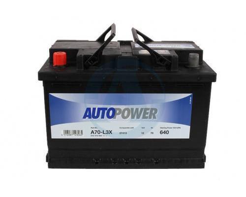Автомобильный аккумулятор  Autopower 70 Ач