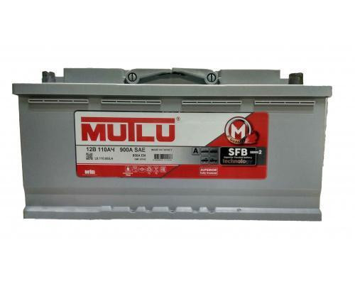 Автомобильный аккумулятор  Mutlu 110 Ач