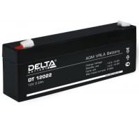 Аккумулятор Delta DT 12022 (12 вольт 2.2 ампер)