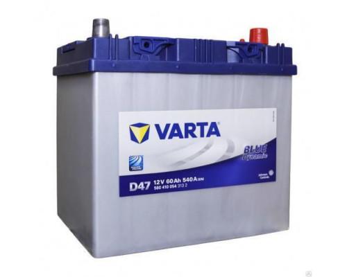 Автомобильный аккумулятор  Varta 60 Ач