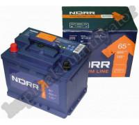 Автомобильный аккумулятор  Norr 65 Ач 242x175x190