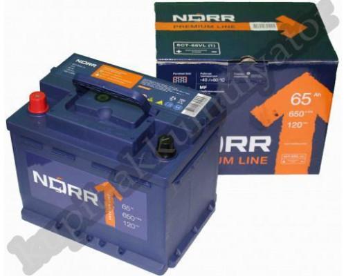 Автомобильный аккумулятор  Norr 65 Ач