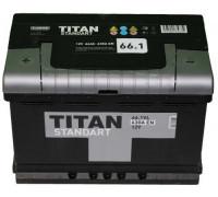 Автомобильный аккумулятор  Titan 66 Ач 278x175x190