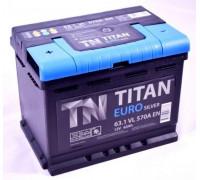 Автомобильный аккумулятор  Titan 63 Ач 242x175x190