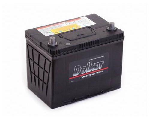 Автомобильный аккумулятор  Delkor 75 Ач