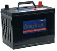 Автомобильный аккумулятор  American 70 Ач 232x173x225