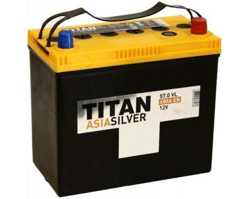 Автомобильный аккумулятор  Titan 57 Ач