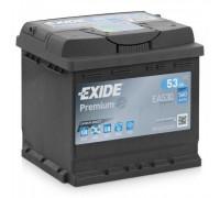 Автомобильный аккумулятор  Exide 53 Ач 207x175x190