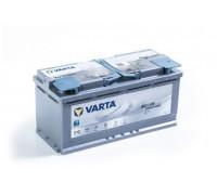 Автомобильный аккумулятор  Varta 105 Ач 393x175x190