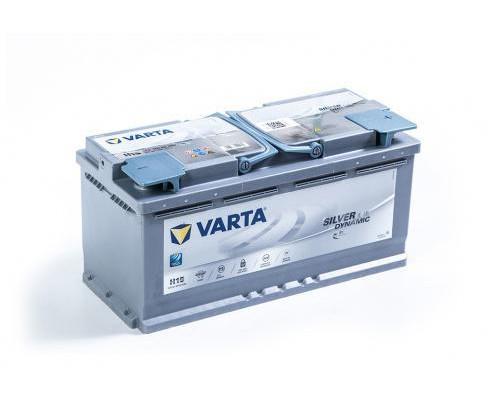 Автомобильный аккумулятор  Varta 105 Ач