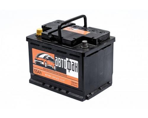 Автомобильный аккумулятор  Avtofan 60 Ач