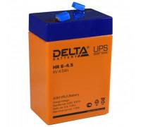 Аккумулятор Delta HR 6-4.5 (6 вольт 4.5 а.ч)