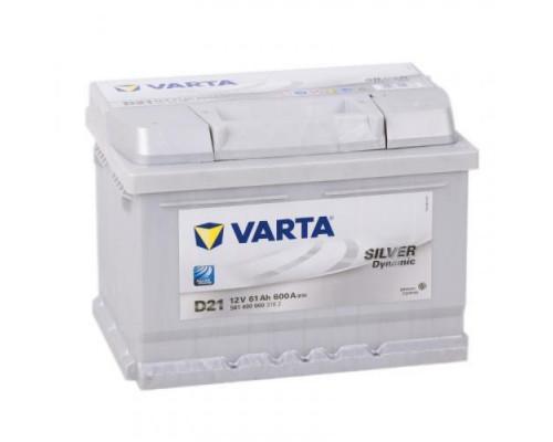 Автомобильный аккумулятор  Varta 61 Ач