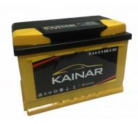 Автомобильный аккумулятор  Kainar 75 Ач 278x175x190