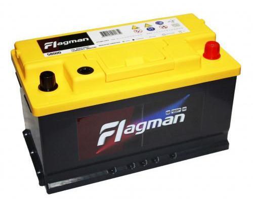 Автомобильный аккумулятор  Flagman 80 Ач