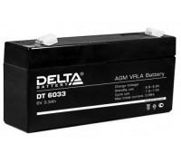 Аккумулятор ИБП/UPS Delta DT 6033 (125) (3.3 А.ч, 6V)
