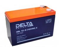 Аккумулятор Delta HRL 12-9Х 12 Вольт 9 А.ч