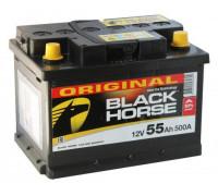 Автомобильный аккумулятор  Black Horse 55 Ач 242x175x190
