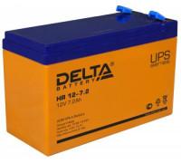 Аккумулятор Delta HR 12-7.2 (12 вольт 7.2 ампер)
