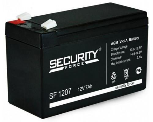 Аккумулятор Security Force SF 1207 (12 вольт 7 а.ч)