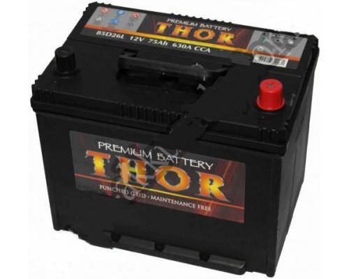 Автомобильный аккумулятор  Thor 75 Ач
