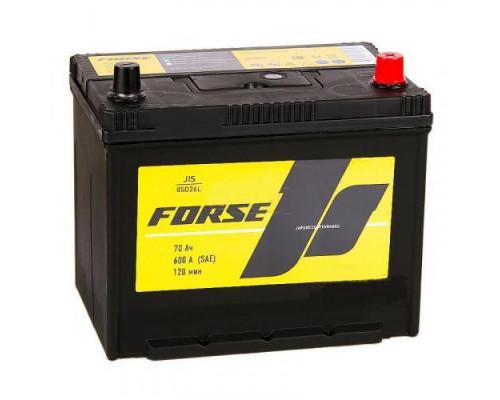 Автомобильный аккумулятор  Forse 70 Ач