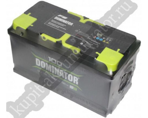 Автомобильный аккумулятор  Dominator 100 Ач