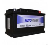 Автомобильный аккумулятор  Autopower 72 Ач 278x175x175
