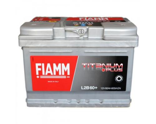 Автомобильный аккумулятор  Fiamm 60 Ач