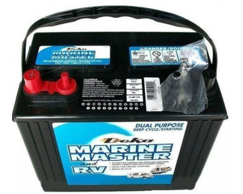 Аккумулятор лодочный DEKA MARINE DP24 (CCA550)  500 А 85 Ач