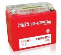Мото аккумулятор Red Energy 20 Ач 177x88x154