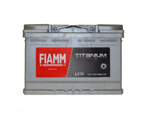 Автомобильный аккумулятор  Fiamm 74 Ач