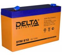 Аккумулятор Delta DTM 612 (6 вольт 12 ач)