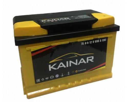 Автомобильный аккумулятор  Kainar 75 Ач