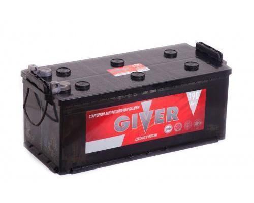 Грузовой аккумулятор Giver 190 Ач