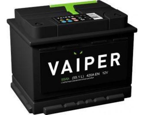 Автомобильный аккумулятор  Vaiper 55 Ач