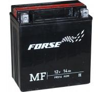 Мото аккумулятор Forse 16 Ач 150x85x161