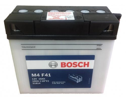 Мото аккумулятор Bosch 18 Ач