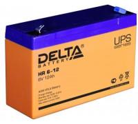 Аккумулятор Delta HR 6-12 (6 вольт 12 а.ч)