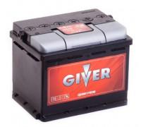 Автомобильный аккумулятор  Giver 60 Ач 242x175x190