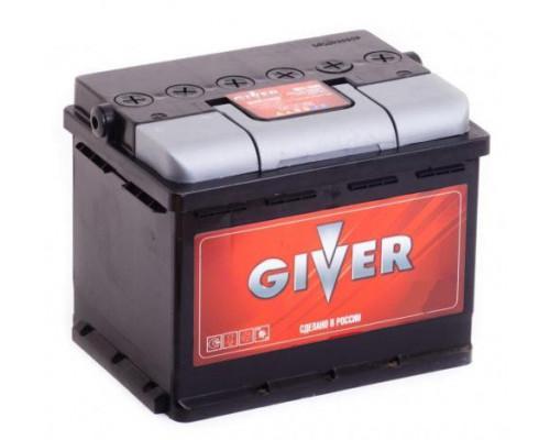 Автомобильный аккумулятор  Giver 60 Ач