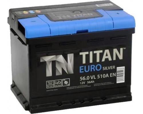 Автомобильный аккумулятор  Titan 56 Ач