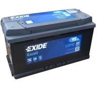 Автомобильный аккумулятор  Exide 95 Ач 353x175x190